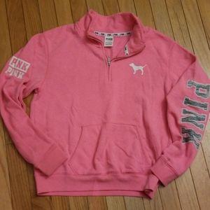PINK 1/4 Sweatshirt